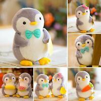 Lovely Cartoon Penguin Animal Fruit Plush Stuffed Toy Pillow Kids Gift Soft Doll
