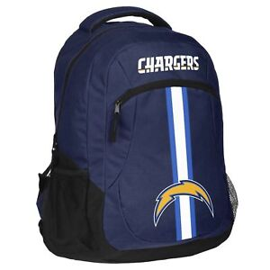 Los Angeles Chargers Logo Action BackPack School Bag Back pack Gym Travel Book