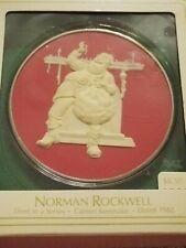 Hallmark ornaments Norman Rockwell series, cameo keepsake, 1982