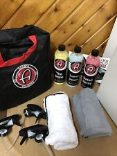 Adams Polishes Car Care Detail Kit With Bag Brand New