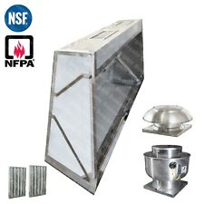 4' Ft Low Profile Restaurant Commercial MakeUp Air Hood CaptiveAire System