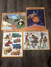 Vintage Puzzle Patch Kids 25 Piece Jigsaw Puzzles 1999. Lot Of 4. Z2