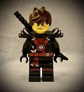 LEGO Ninjago - KAI Minifigure - Round Torso - Emblem Armor - Tousled Hair
