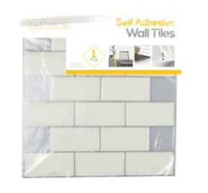 1-Pack 3D Self-Adhesive Kitchen Wall Tiles Stickers Bathroom Mosaic Peel Stick