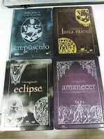 SAGA CREPUSCULO TWILIGHT COLLECTION 12 DVD - 4 X STEELBOOK ESPAÑOL ENGLISH UNICA