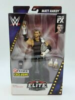 Ringside Collectibles Exclusive Mattel WWE Elite Matt Hardy w/ ECW Title Figure