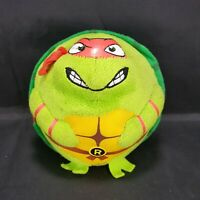 "TY Beanie Ballz Teenage Mutant Ninja Turtles Raphael 5"" Plush Ball TMNT"
