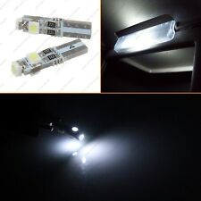 4pcs 37 74 T5 Wedge Sun Visor Vanity Mirror White LED Lights Bulb Replacement