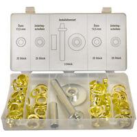 103-tlg.Ösen-Installations-Set Einschlagstempel Ösenzange Ösenwerkzeug ITS-153