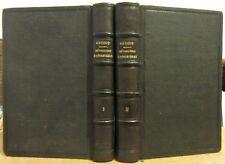 GUIZOT HISTOIRE DE LA REVOLUTION D'ANGLETERRE 1850 COMPLET EN 2 VOLUMES RELIES
