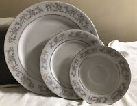 Dynasty Fine China Rapture 2002 Floral Dinnerware Service For 4 -16 Piece