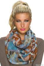 Écharpes et châles bleu avec des motifs Rayé pour femme