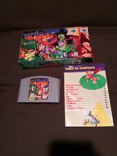 Video Game - Nintendo 64 N64 - BANJO-KAZOOIE -  Complete in Box authentic CIB