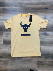Under Armour Mens Project Rock Above The Bar Short Sleeve T-Shirt 1345811-773 M