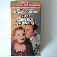 In the Good Old Summertime 1990 VHS Judy Garland, Van Johnson