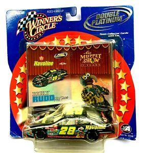 2002 NASCAR Winners Circle 03285 Ricky Rudd #28 Double Platinum Muppets 1:43