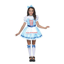 Princess Dress Fairy Dorothy Party Costumes, Headband and Leg Cover Included M