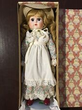 Vintage 1982 Nostalgic Sasha Doll Porcelain Head, Hands, Feet Enesco Used