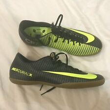 9d0262cf064674 Nike MercurialX Victory VI CR7 IC Green Indoor Court Soccer Men s Sz 11 1 2