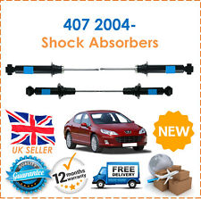 For Peugeot 407 2004- 2 Front & 2 Rear Shock Absorbers Damper Set Pair x2 New