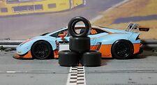 1/32 URETHANE SLOT CAR TIRES 2pr PGT-20137LM Sideways Lamborghini Huracan