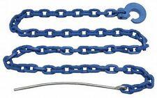 3 x Forstketten 8 mm, 4,0 m + 3 x Seilgleitbügel drehbar,Grad 100, Rückeketten