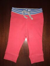 NWT Mini Boden 6-12M Red Jersey Pants