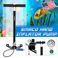 6000PSI SMACO Scuba Diving Oxygen Air Tank Reserve Hand Pump Mini Operated USA