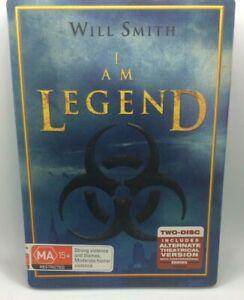 I am Legend Steelbook 2 Disc DVD Region 4