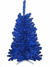 Detroit Lions Honolulu Blue & Silver 6FT  Christmas Tree, Team Colored Tree NFL