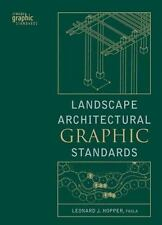 Landscape Architectural Graphic Standards by Leonard Hopper 2007 Hardcover