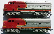 Fleischmann US Diesellok Santa Fe Nr. 1343 / 1344 - Spur H0