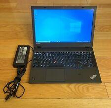 """🔥 Lenovo Thinkpad W540 15.6"""" Laptop i7-4700MQ 8GB Quadro K1100M 500GB SSD"""