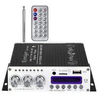 Kentiger V10 Verstärker Bluetooth Hi-Fi Klasse-Ab Stereo Super Bass Audio Le KK