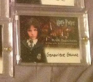 Harry Potter PoA Prisoner Azkaban Gaunt Pansy Parkinson Autograph Trading Card