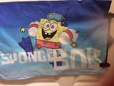 Sponger bob square pants,single quilt/duvet cover,2 patterns,pillow slip,buttons