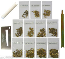 Custom Schlage Rekey Locksmith Pins Kits Bottom Pin 50 PC 3 Tools