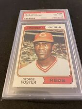 1974 Topps # 646 George Foster PSA 8 NM-MT