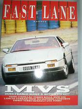 Fast Lane Aug 1988 MVS Venturi, BMW M3 vs Lancia 8.32 vs Sapphire Cosworth