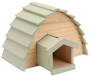 Hedgehog House - Garden Ting Hibernation Safe Shelter Wildlife Cosy Sanctuary