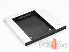 HD-Caddy HP Pavilion 17-e Serie zweite SSD Festplatte Einbaurahmen SATA ers DVD