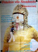 FRÄULEIN VON STRADONITZ IN MEMORIAM (Kinoplakat / Filmplakat '71) - G. FOLLINA