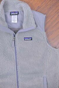 Patagonia Retro-X Fleece Vest Gray Women's XL