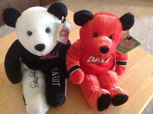 NASCAR Dale Earnhardt Sr.& Dale Jr Salvino Bears NWT