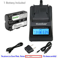 Kastar Battery LCD Fast Charger for Sony NP-FM500H & a57 a57 SLT-A57K SLT-A57M