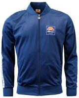 Ellesse Men's Track Top Jacket Blue Jaynefi New
