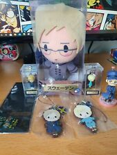 Hetalia plush, figure and strap set Sweden and Finland
