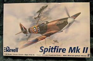 Revell Spitfire Mk ll plane model 1:48 scale 85-5239  New! Sealed!