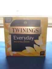 Twinings Everyday Tea 80 Bags 232g NEW SHIPS WORLDWIDE
