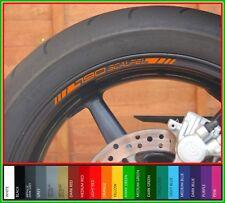 8 x Bisturí KTM 790 Rueda Llanta Adhesivos Calcomanías - 20 Colores Disponibles - 790 Duke